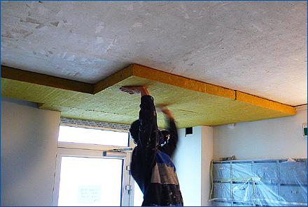 Zateplení střechy vatou
