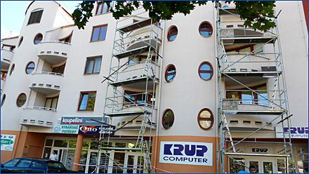 Oprava balkonů a teras